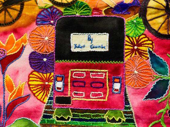 Tuktuk Tapestry by Thimble